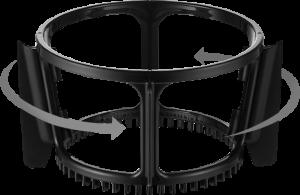 Hurom rotirajuće metlice